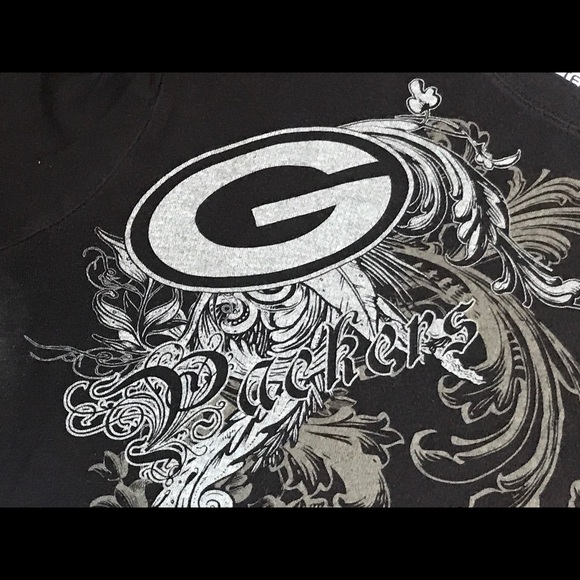 NFL Tops - Ladies Green Bay Packers Tee Shirt Size XL